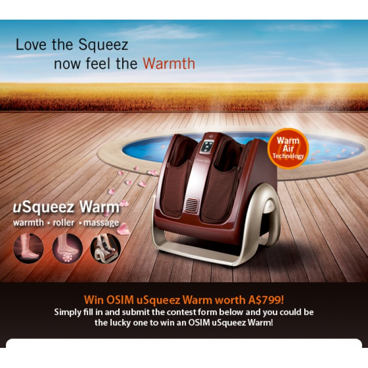 Warm Foot Leg Massager